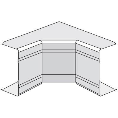 Угол  цвет белый 100x40  (90°)  внутренний неизменяемый DKC  NIA  01825