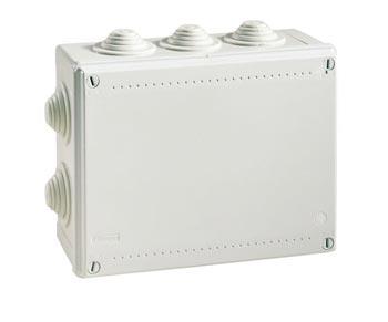 Коробка ответвительная DKC 54100 с кабельными вводами IP55 190х140х70мм 54100