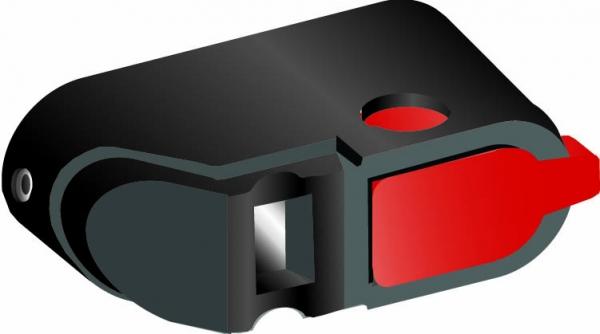 Ручка ABB управления OHBS11/1 прямого монтажа для реверсивных рубильников ОТ100..125F_С/1SCA109093R1001/
